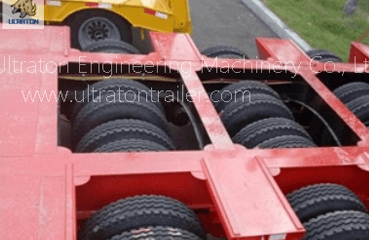 20-40 Ton Low Bed Semi Trailer