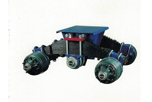FW31 and FW32(32 ton)Cantilever Dread Bogie Suspension