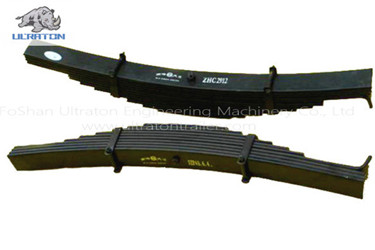 7-17 pieces semi trailer leaf spring series