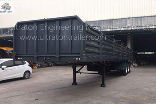 Production Dimensions of Shipping Container Semi-trailer