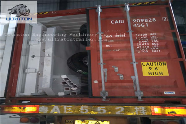10 Units Of Flatbed Semi Trailer To Tanzania, Africa-5