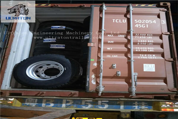 15 Units Of Flatbed Semi Trailer To Tanzania, Africa-8