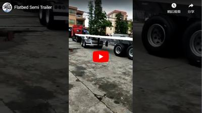 Ultraton Flatbed Semi Trailer