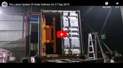 Ultraton Order Delivery on 27 Sep 2019: 20 Units of Flatbed Semi Trailer