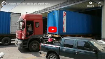 Ultraton Shipping Service of Trailer and Trailer Parts
